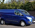 2016/16 Ford Transit Custom Trend 290 2.2TDCI 125 ps with A/C Deep impact blue 1