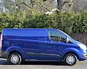 2016/16 Ford Transit Custom Trend 290 2.2TDCI 125 ps with A/C Deep impact blue 3