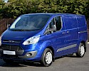 2016/16 Ford Transit Custom Trend 290 2.2TDCI 125 ps with A/C Deep impact blue 2