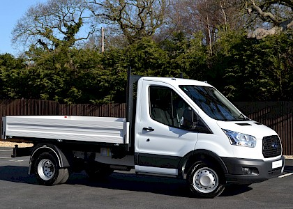2016/66 Ford Transit 350 Tipper 2.2TDCI 125ps White