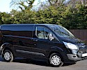 2016/16 Ford Transit Custom Trend 290 2.2TDCI 125 ps with A/C Panther black 1