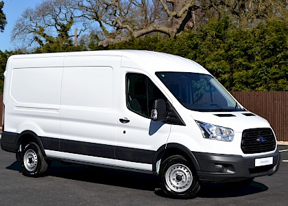 2016/66 Ford Transit 2.2TDCI 125ps 350 LWB Medium Roof L3 H2