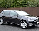 2016/16 Volkswagen Golf 1.6TDI 105ps Bluemotion Highline 5 Door Black Metallic 1