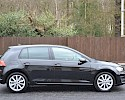 2016/16 Volkswagen Golf 1.6TDI 105ps Bluemotion Highline 5 Door Black Metallic 2