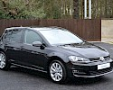 2016/16 Volkswagen Golf 1.6TDI 105ps Bluemotion Highline 5 Door Black Metallic 3