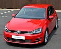 2016/16 Volkswagen Golf 1.6TDI 105ps Bluemotion Highline 5 Door Red Metallic 3