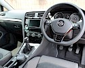 2016/16 Volkswagen Golf 1.6TDI 105ps Bluemotion Highline 5 Door Red Metallic 10