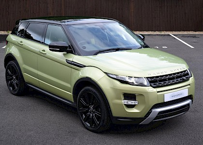 2013/13 Land Rover Range Rover Evoque SD4 Dynamic Luxury pack