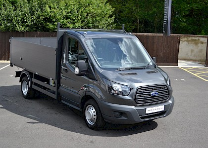 2017/17 Ford Transit 350 Tipper 2.0TDCI 130ps HIGH SIDE & TOOL BOX