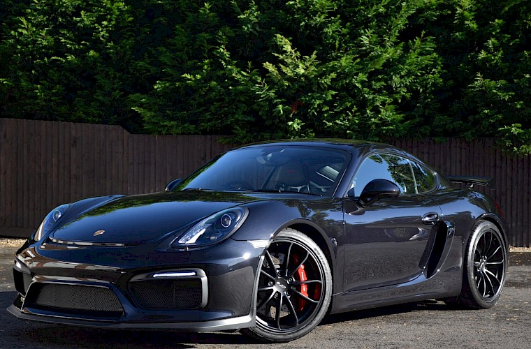 New & Unregistered Porsche Cayman GT4 4