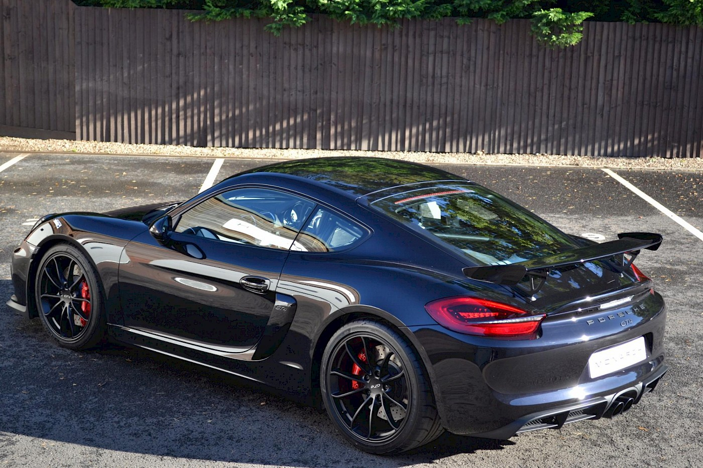 New & Unregistered Porsche Cayman GT4 6
