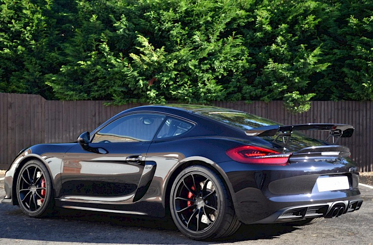 New & Unregistered Porsche Cayman GT4 12