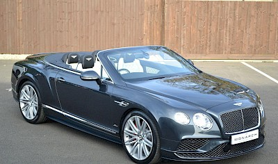 2016/16 Bentley Continental GT Speed convertible