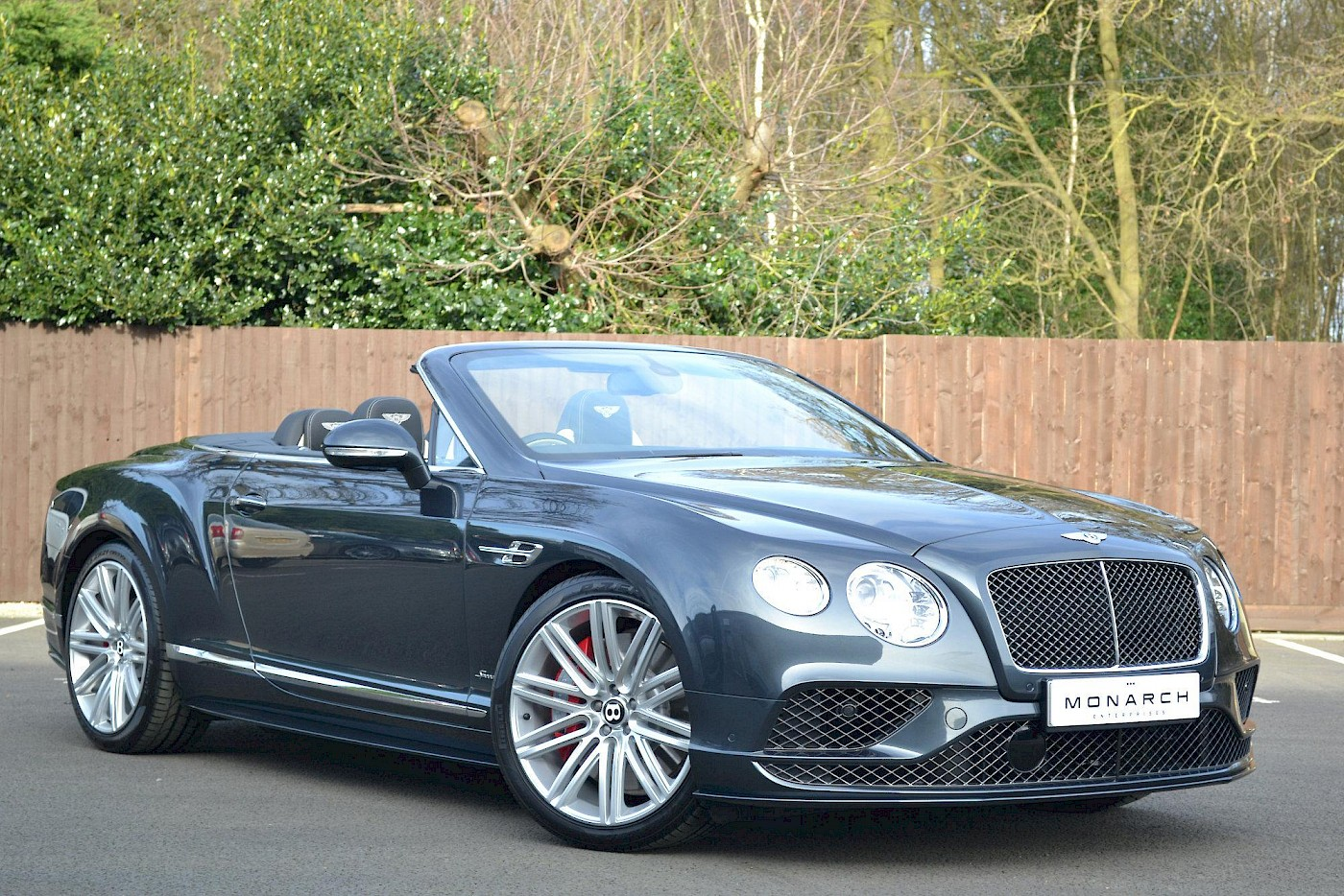 2016/16 Bentley Continental GT Speed convertible 3