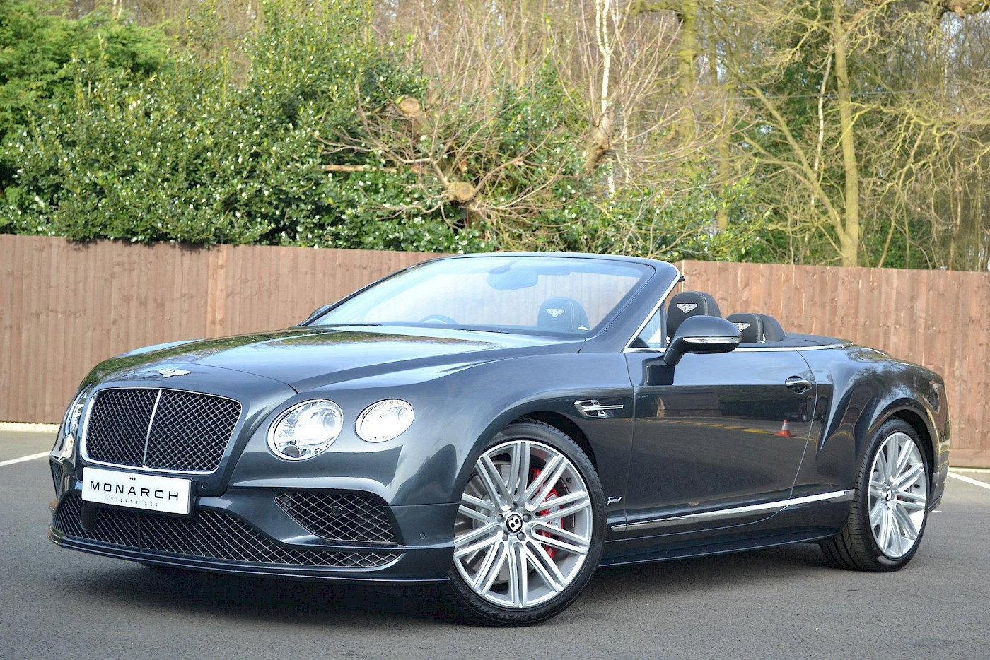 2016/16 Bentley Continental GT Speed convertible 4