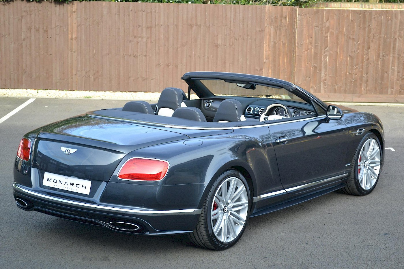 2016/16 Bentley Continental GT Speed convertible 7