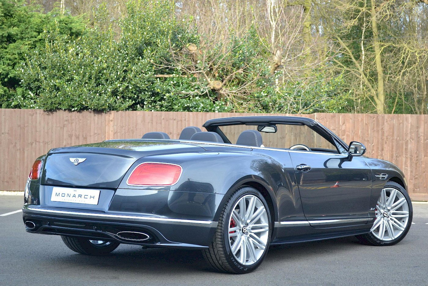 2016/16 Bentley Continental GT Speed convertible 9