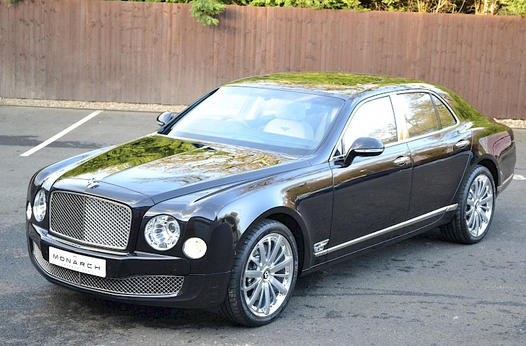2014/63 Bentley Mulsanne Mulliner Driving specification 2