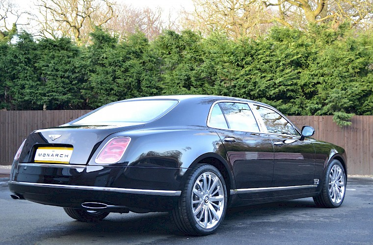 2014/63 Bentley Mulsanne Mulliner Driving specification 9