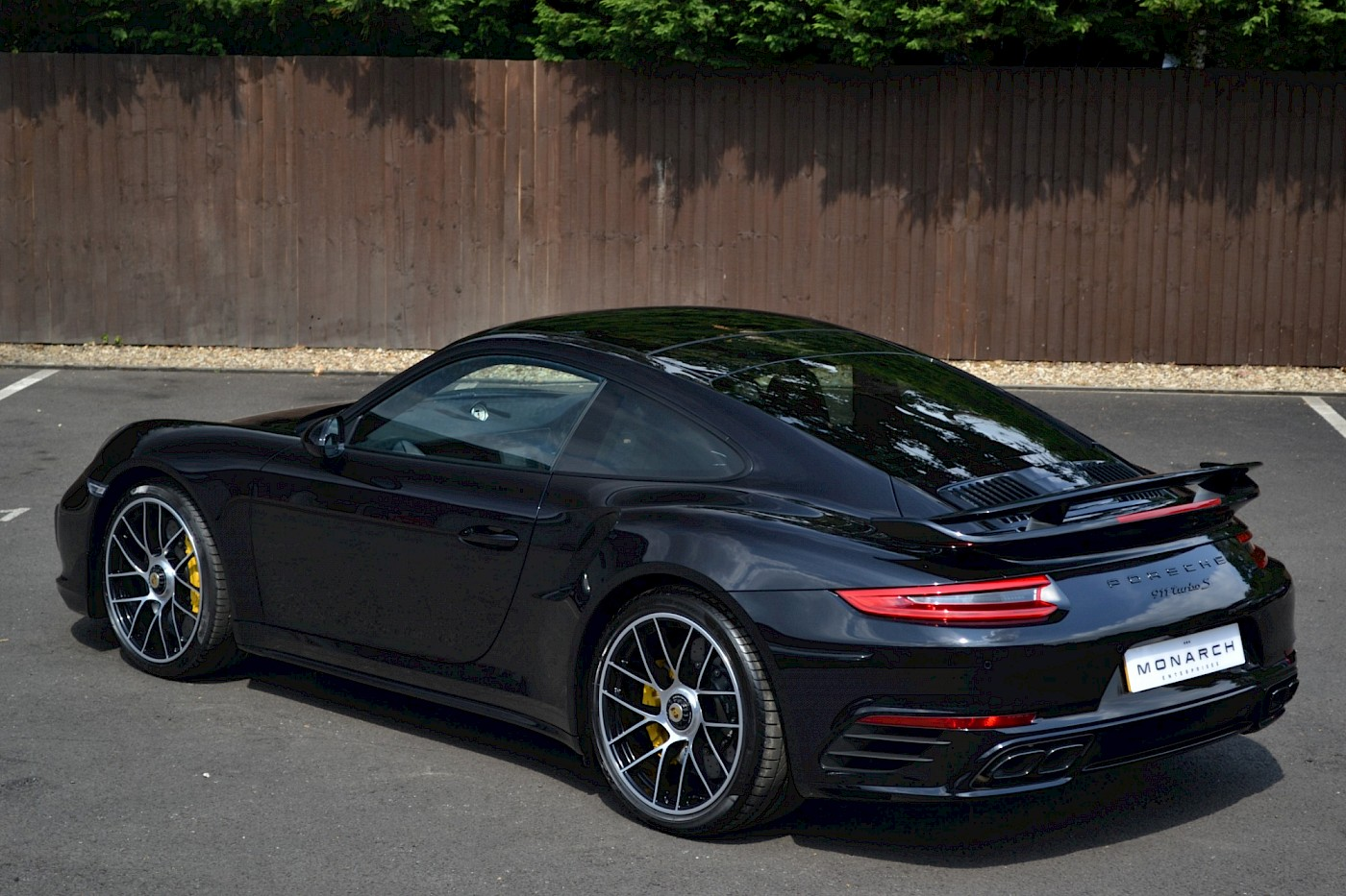 2018/67 Porsche 911 991 Turbo S PDK 8