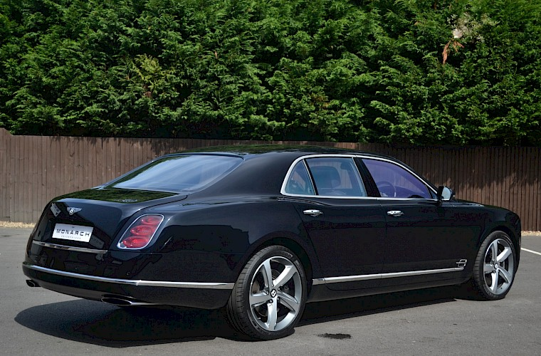2015/64 Bentley Mulsanne Speed V8 14