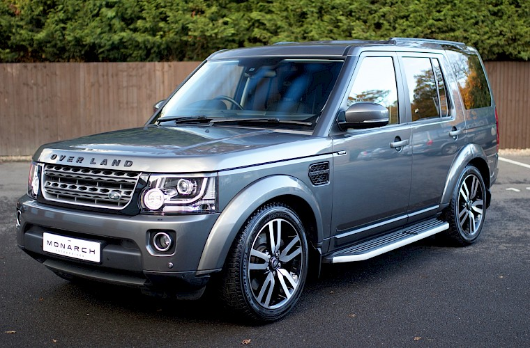 2014/64 Land Rover Discovery Commercial SDV6 SMC Overland 6